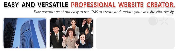 Looknow.ca is easy and versatile professional website creator. Take advantage of our easy to use CMS to create and update your website effortlessly.  Looknow.ca includes useful tools such as